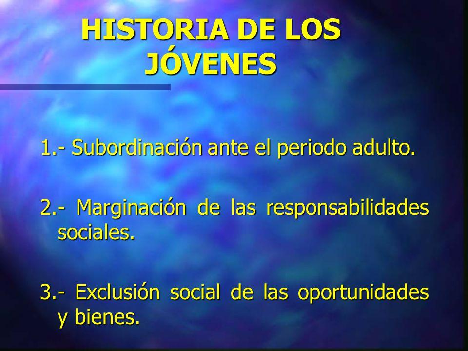 DISCURSO SOCIAL DEL IPEC Protagonismo social organizado de los jóvenes