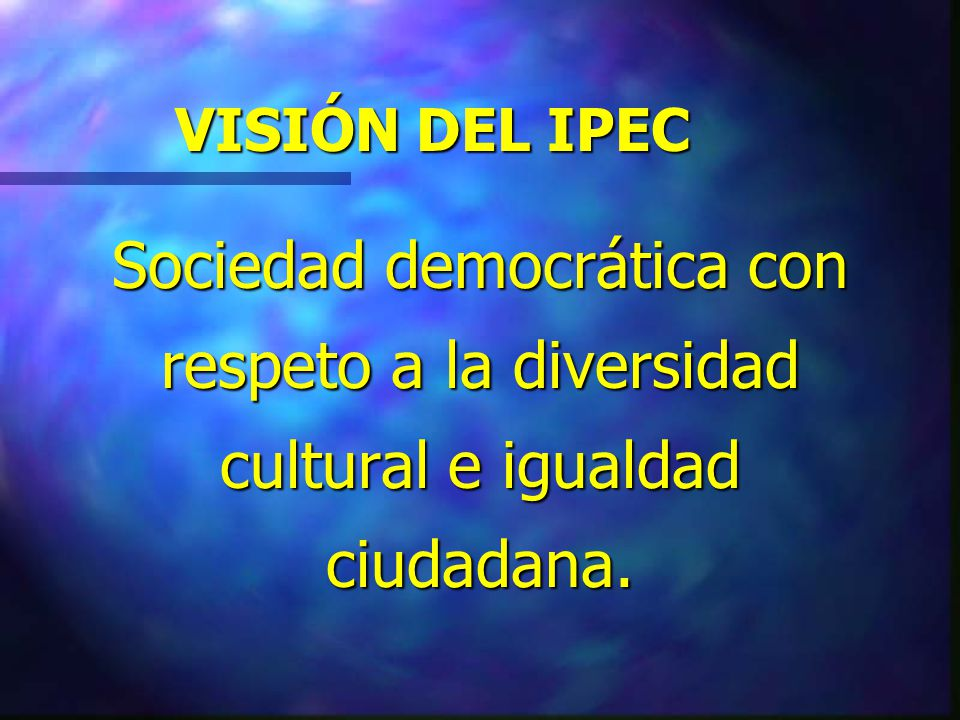 NÚMERO PROMEDIO DE JÓVENES 1.- El IPEC ha trabajado con un promedio de 300 delegados por año.