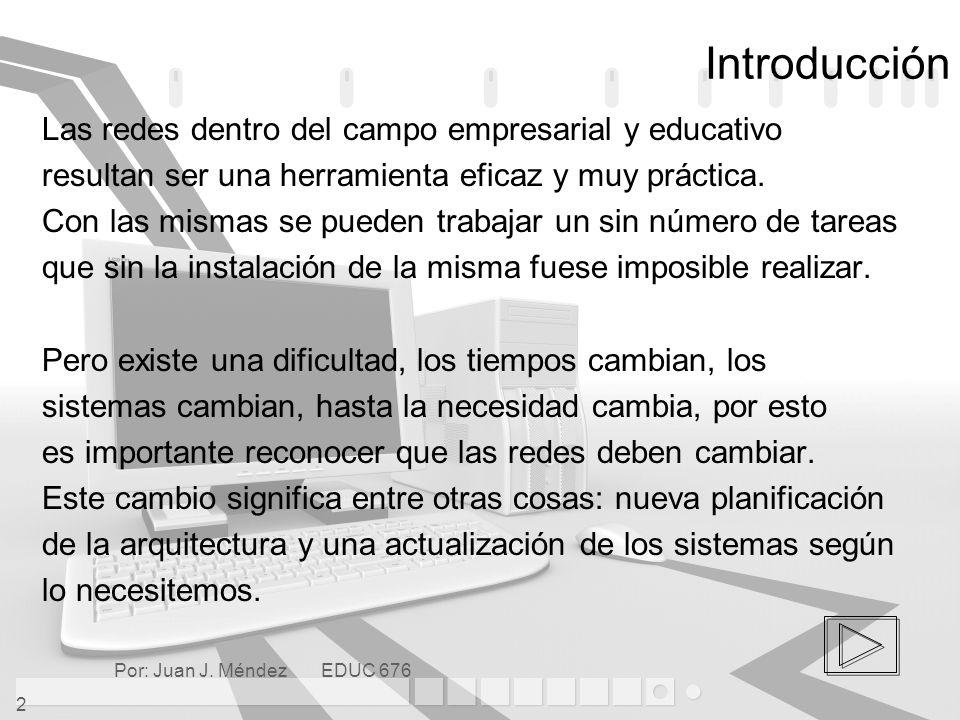 Por: Juan J.Méndez EDUC 676 33 Referencias Aprende Redes Visualmente.