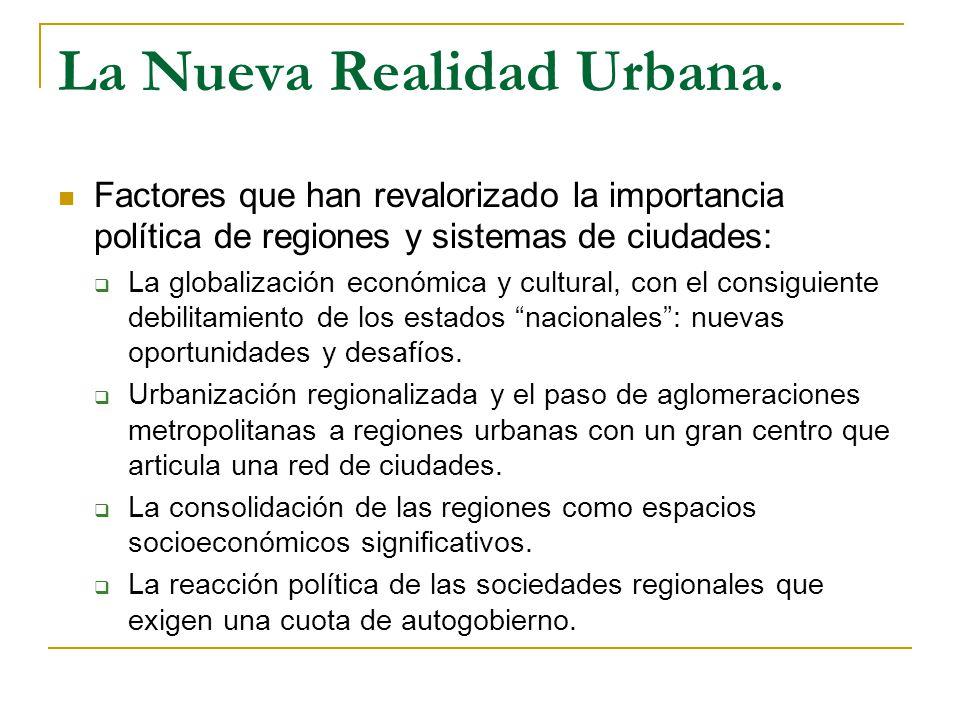 La Nueva Realidad Urbana.