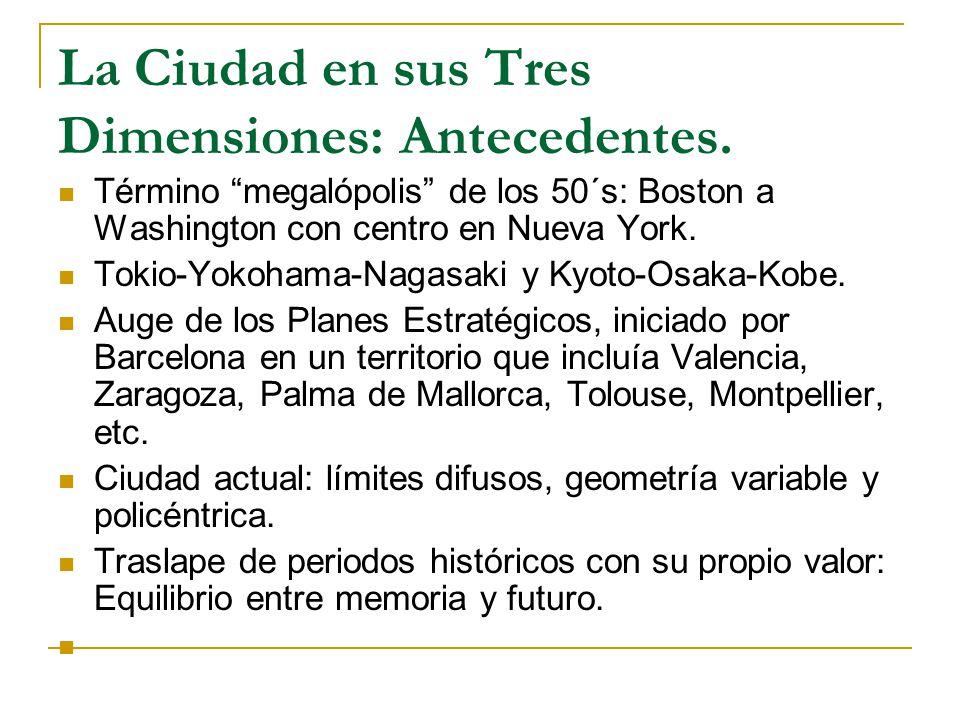 La Ciudad en sus Tres Dimensiones: Antecedentes.