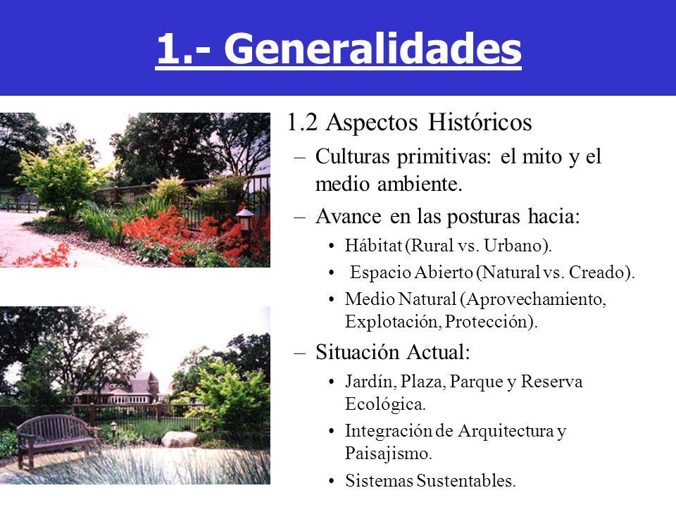 5.3 Suelos –Medio de soporte y crecimiento de la vegetación.