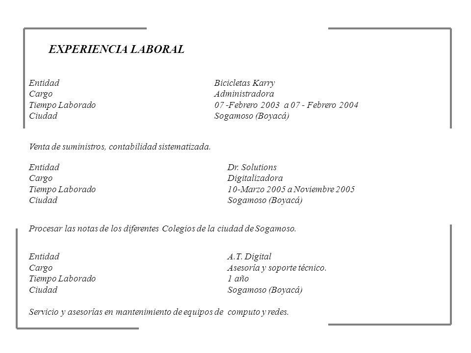 REFERENCIAS PERSONALES NombreBerenice Piratoba Morales Profesión Cargo Licenciada en Química y Biología Rectora Celular(315)-895-2013 NombreJuan Olegario Monroy Profesión Cargo Ing.