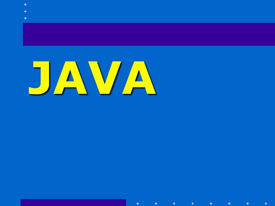 JAVA Historia Surgió en 1991 cuando un grupo de ingenieros de Sun Microsystems trataron de diseñar un nuevo lenguaje de programación destinado a electrodomésticos.