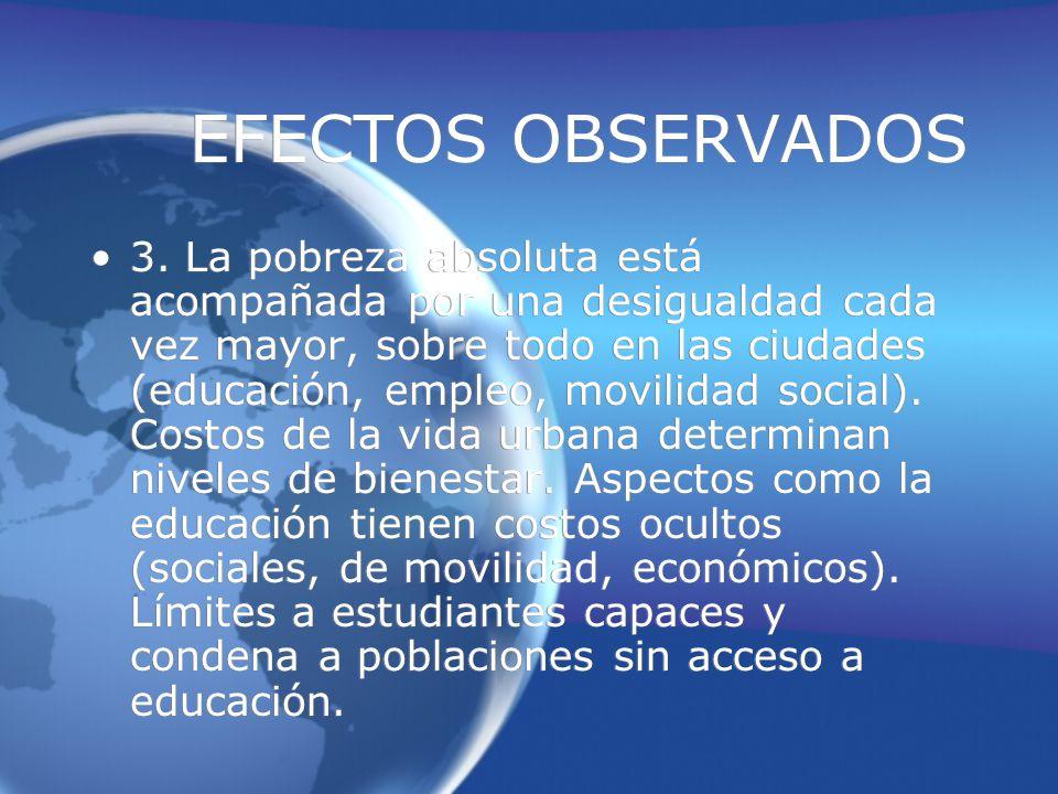 EFECTOS OBSERVADOS 3.