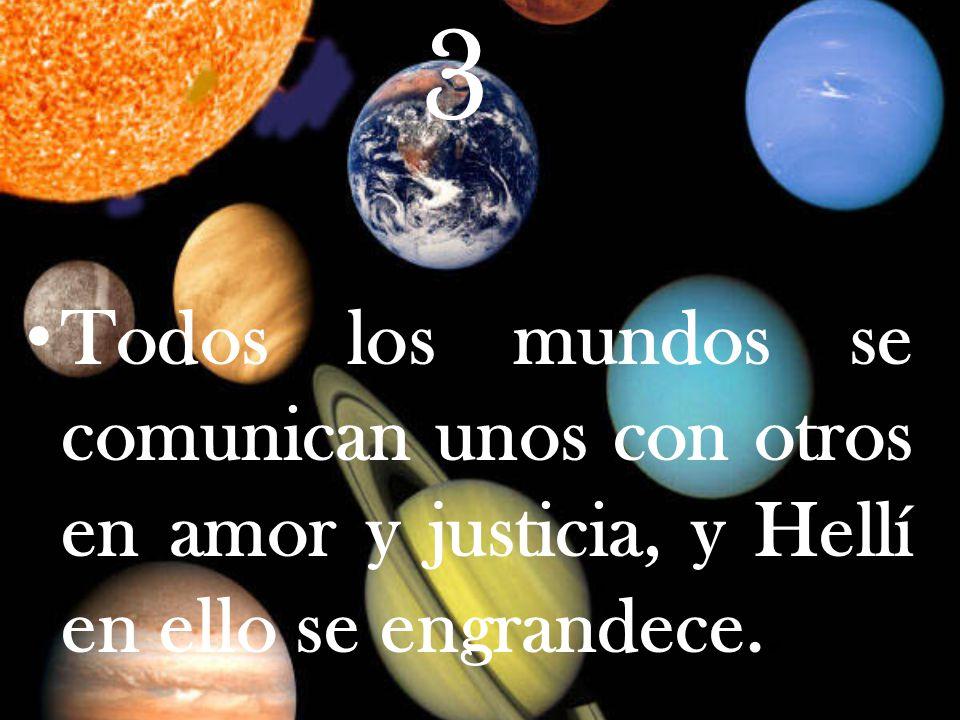 2 Los Mundos son infinitos y el hombre ha de vivir en todos los que hoy existen; pero la creación sigue y no se acaba.