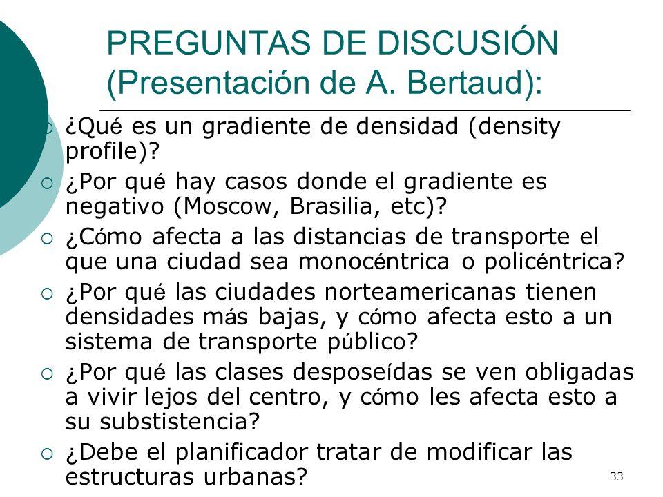 33 PREGUNTAS DE DISCUSIÓN (Presentación de A.