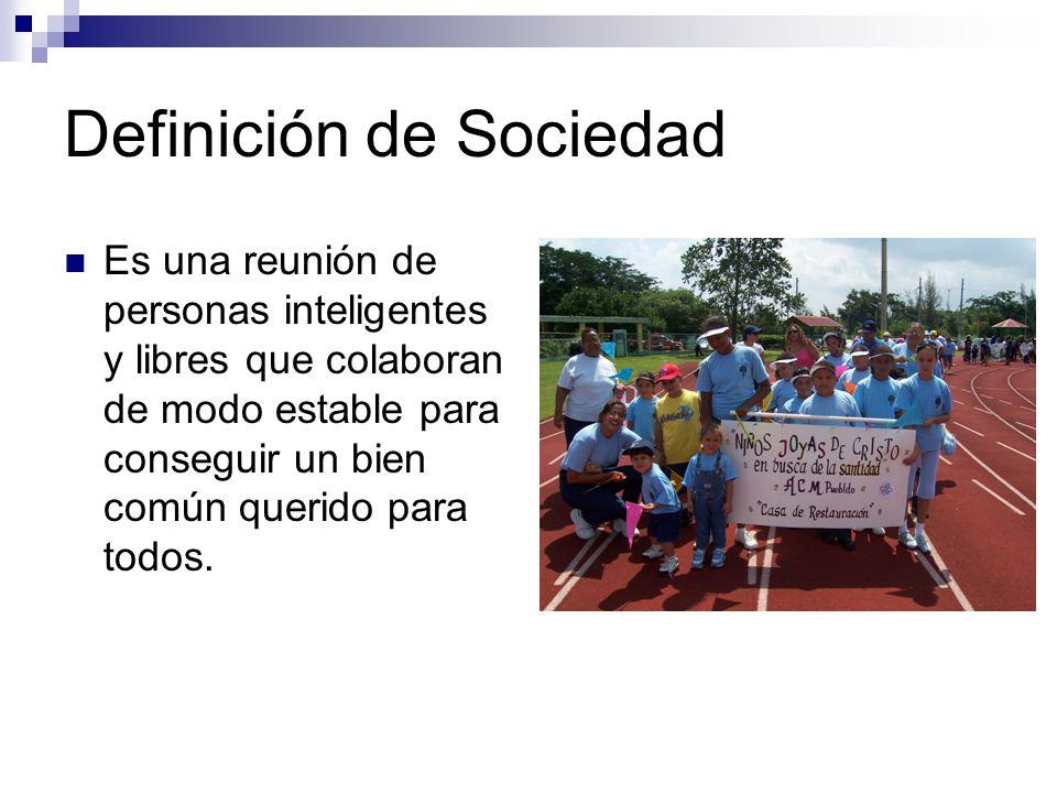 Definición de Sociología Es la disciplina que estudia las instituciones fundamentales de la sociedad y la interrelación que hay entre ellas.