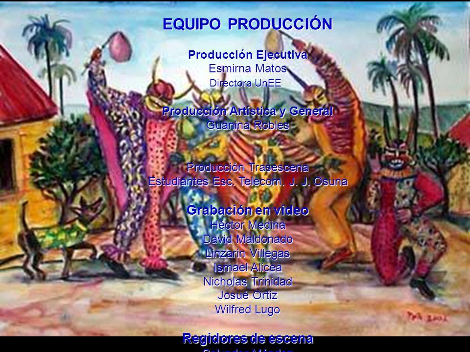 Regiduría de Escena Salvador Méndez Esc.Telecomunicaciones J.