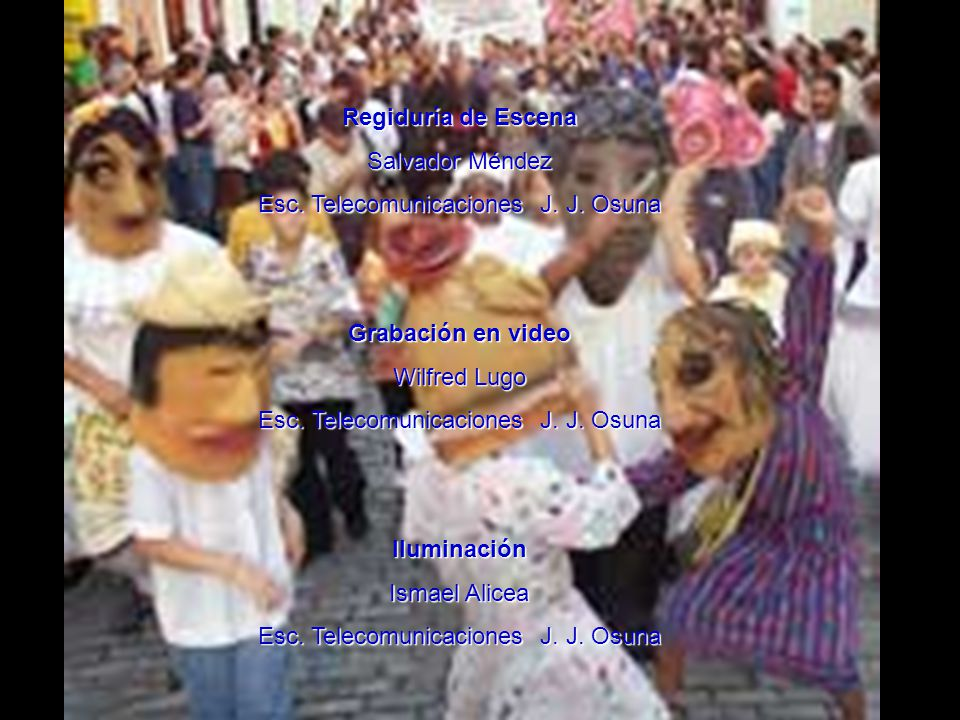AGRADECIMIENTOS ESPECIALES A: Museo de Arte de Puerto Rico Galería del Estudiante Actividades Especiales Instituto de Cultura Rosabel Otón Amigos Críticos William Padín Lilliana Cruz