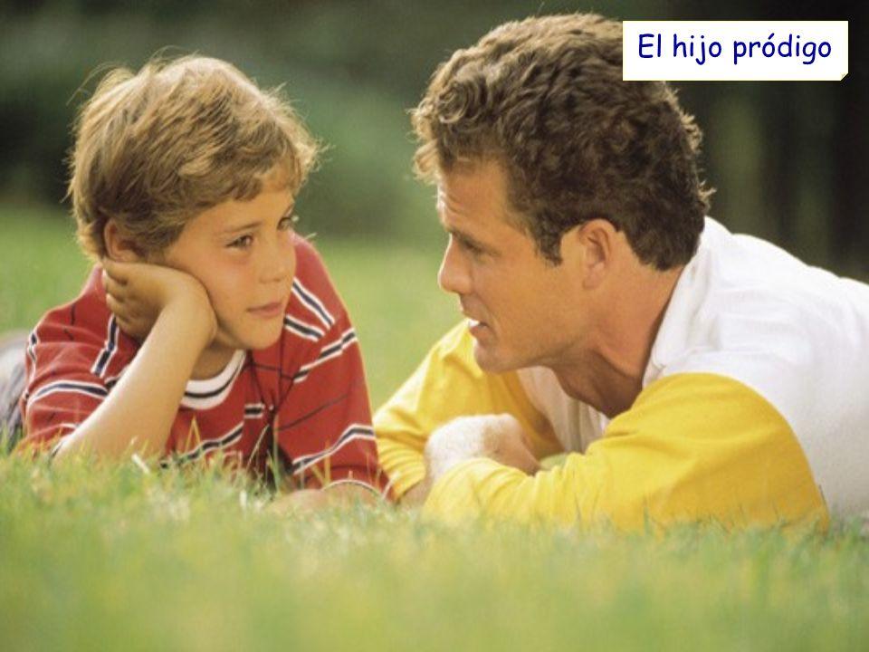 El padre le contestó: ¡Pero hijo.Tú siempre estás conmigo, y todo lo que tengo es tuyo.