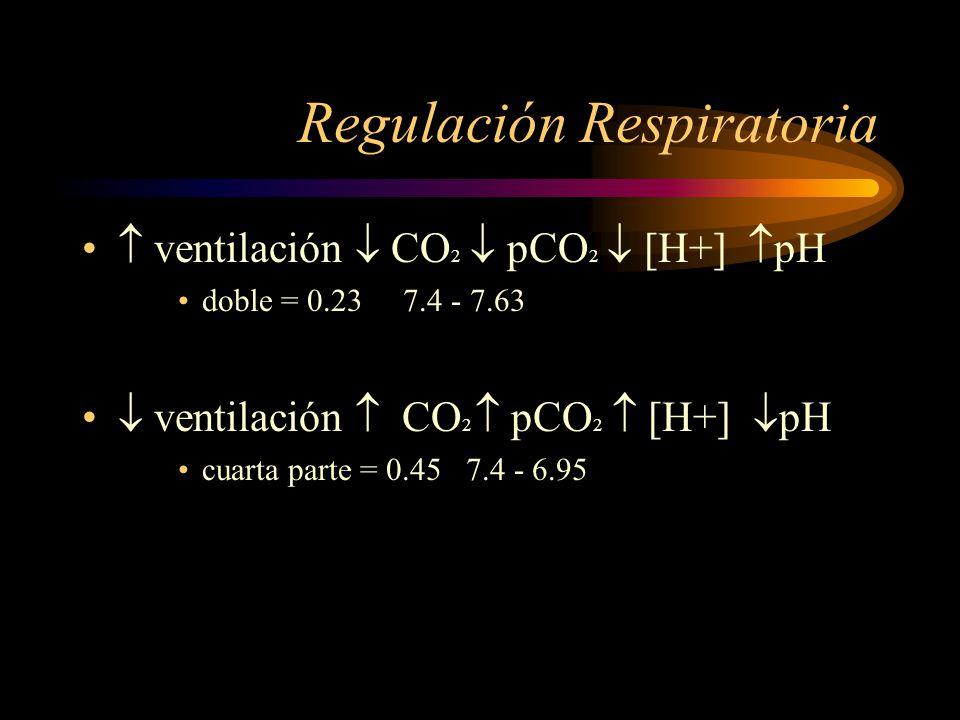Segunda línea de defensa Procesos metabólicos intracelulares CO 2 a líquido intersticial y sangre pulmones alveolos atmósfera CO 2 en líquidos extrace