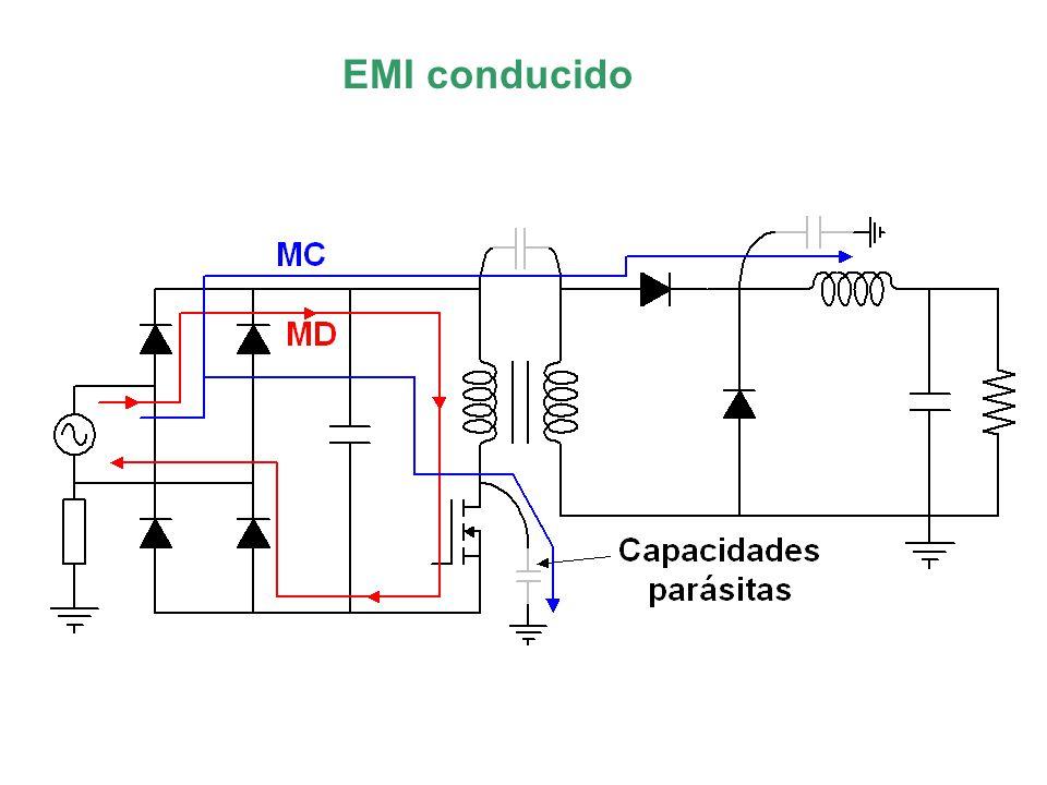 ¿Como reducir las corrientes de modo diferencial? Utilizar condensadores cerámicos