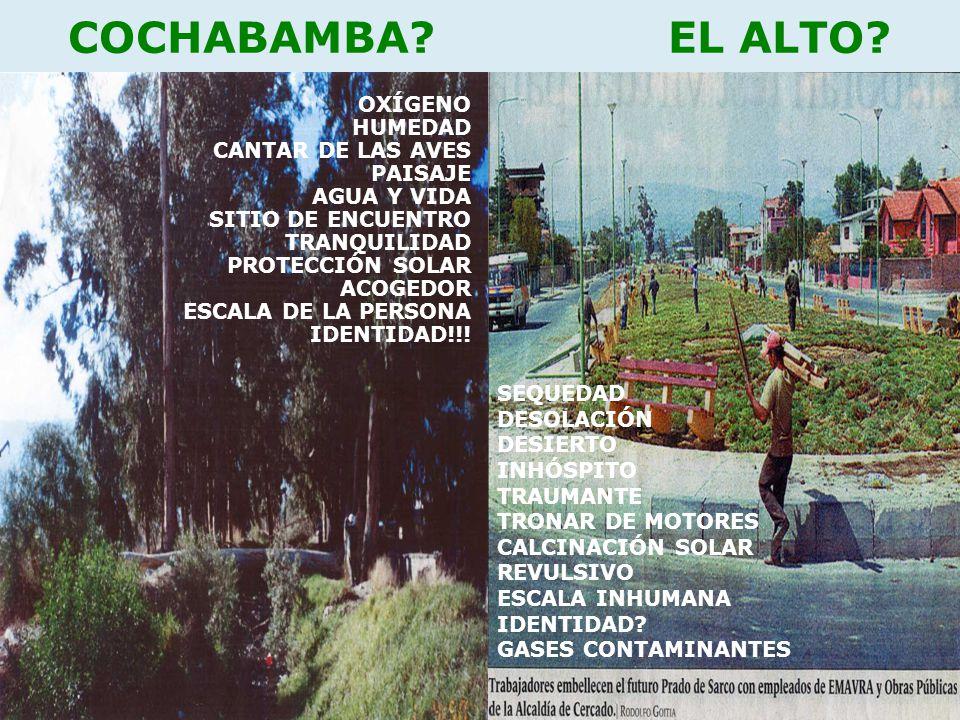 COCHABAMBA.EL ALTO.