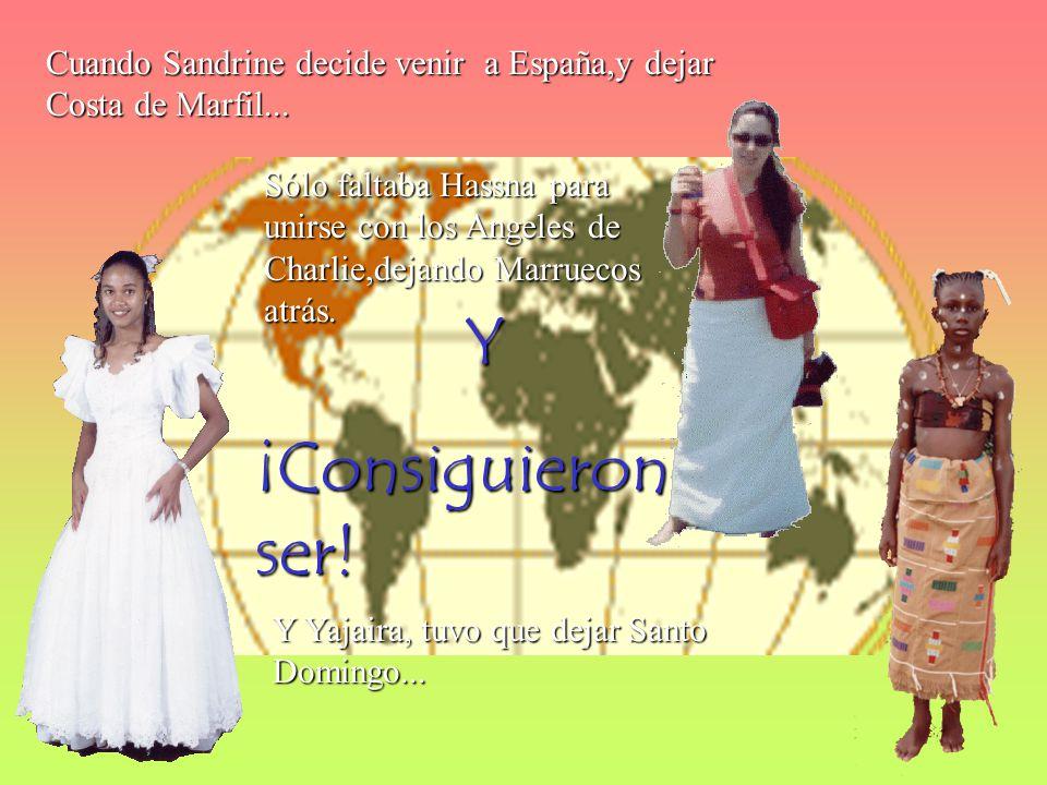 Cuando Sandrine decide venir a España,y dejar Costa de Marfil...