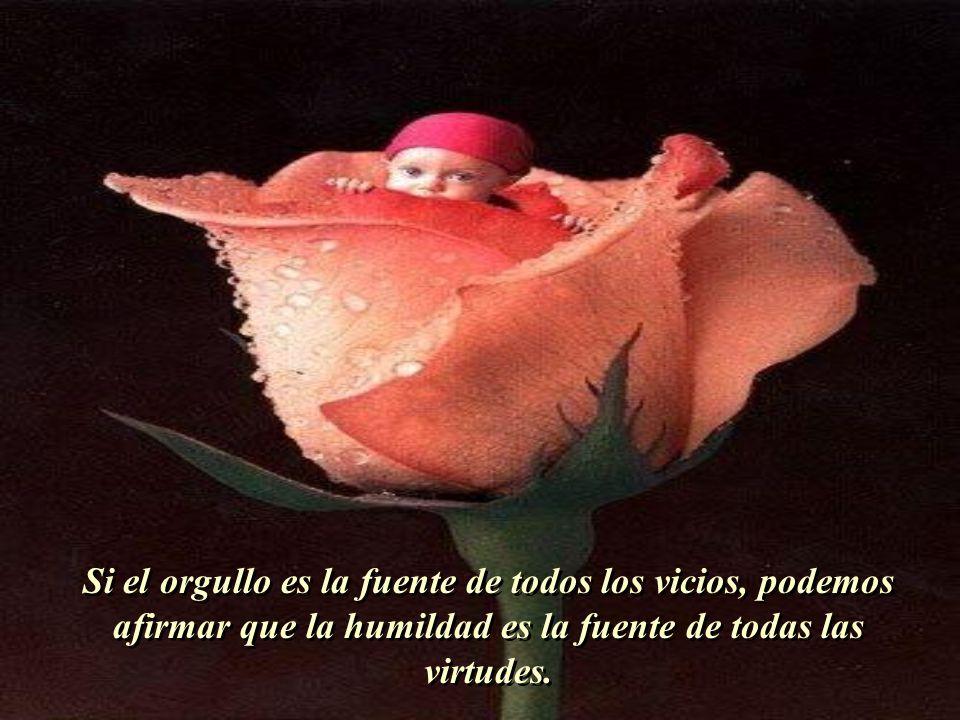 Si el orgullo es la fuente de todos los vicios, podemos afirmar que la humildad es la fuente de todas las virtudes.