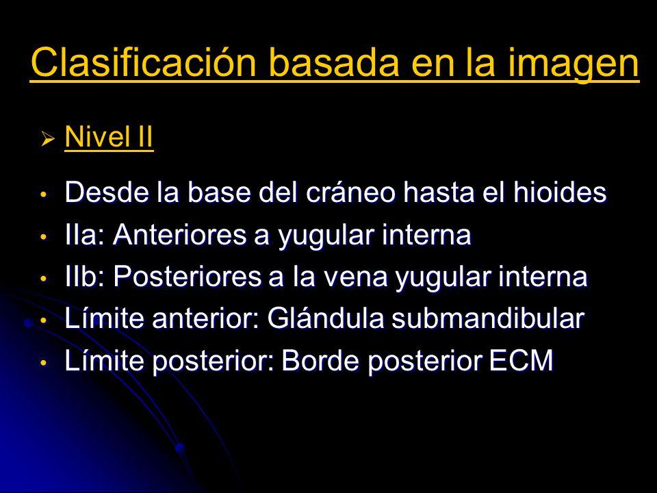 Semiología en imagen Tamaño y contorno Criterios benignidad: Morfología ovoidea: Eje largo = 2 x eje corto.