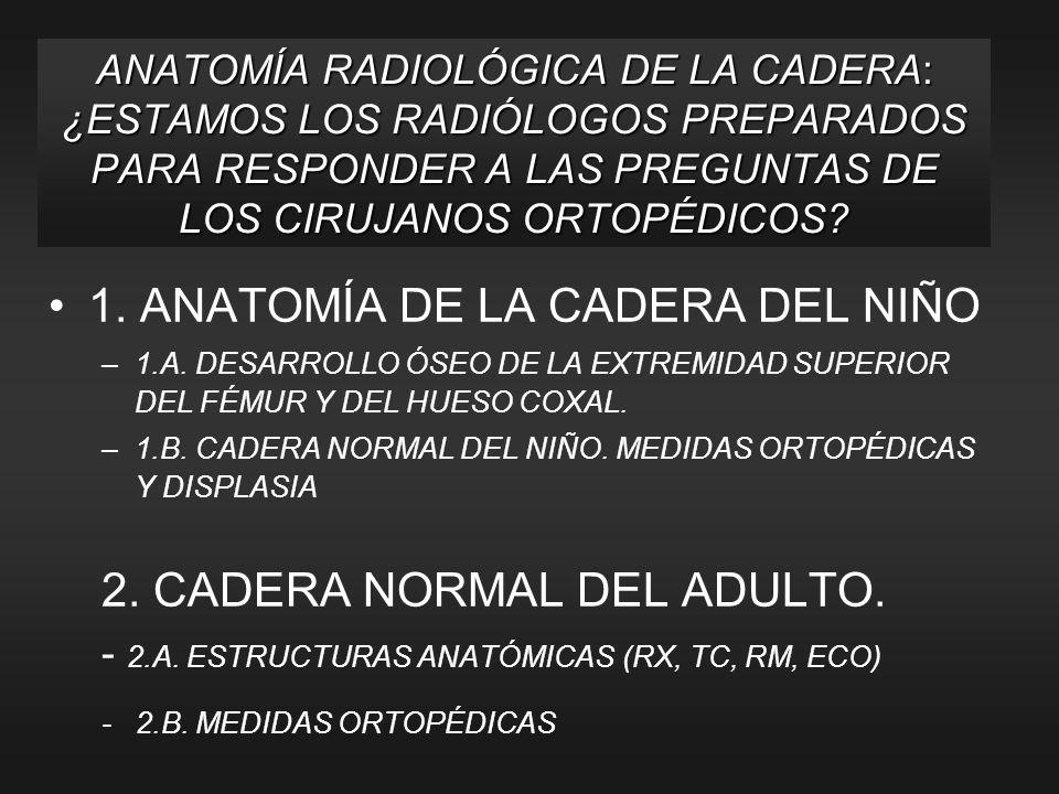 TC AXIAL DE CADERA DERECHA 1.Cabeza del fémur10. M.