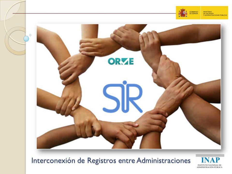 ESCENARIO Escanear, en el momento, los documentos presentados por el ciudadano, DESTINADOS A OTRAS ADMINISTRACIONES FUERA DEL ÁMBITO DEL REGISTRO (también registros de salida) Devolver el papel al ciudadano.