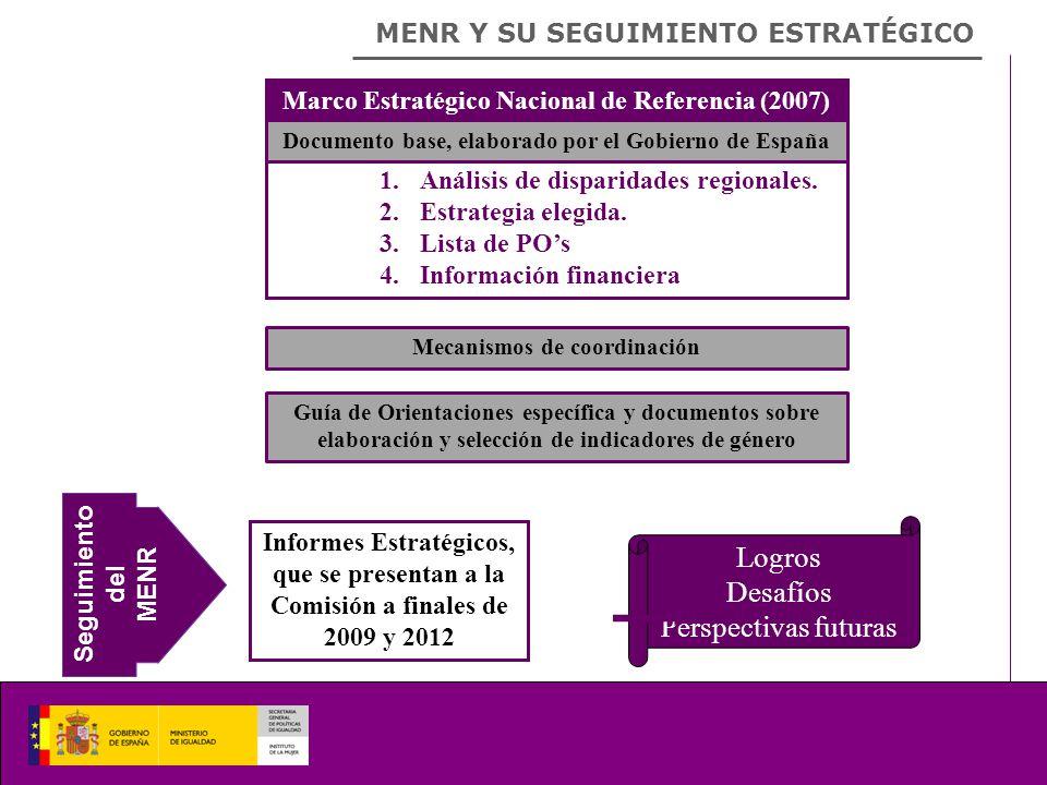 MENR Y SU SEGUIMIENTO ESTRATÉGICO 1.Análisis de disparidades regionales.