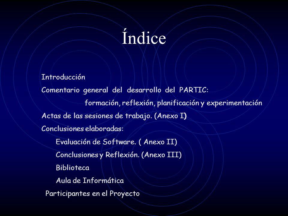 PARTIC Memoria 2003/2004 C.E.I.P. Pintor Agustín Riancho ALCEDA -Cantabria-
