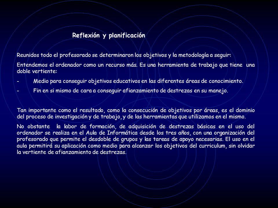 Desarrollo del Partic Formación Como queda reflejado en el Anexo I (actas de las sesiones de trabajo), las primeras reuniones que se realizaron fueron