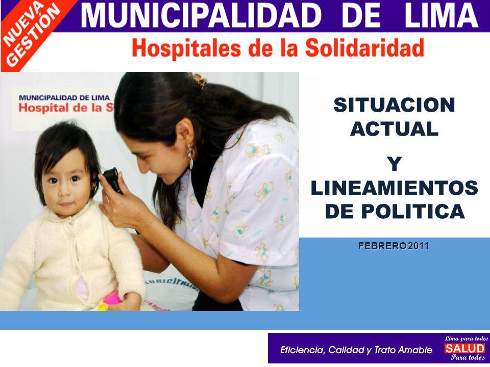 LOGO SITUACION ACTUAL Y LINEAMIENTOS DE POLITICA FEBRERO 2011