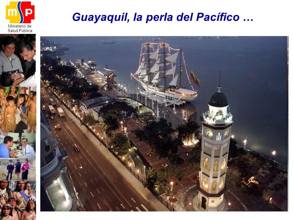 Ministerio de Salud Pública Guayaquil, la perla del Pacífico …