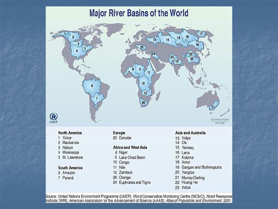 Cobertura de agua potable y saneamiento en Amèrica Latina Fuente World Resource Institute 2005: PNUD 2005, PAHO 2001, FAO 2000.