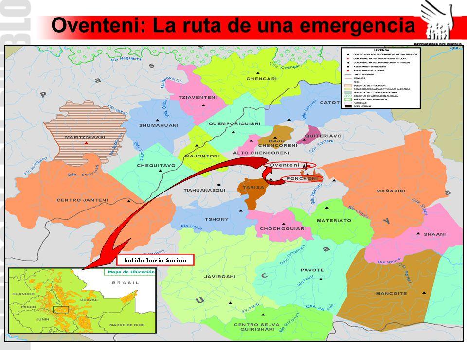 Oventeni: La ruta de una emergencia