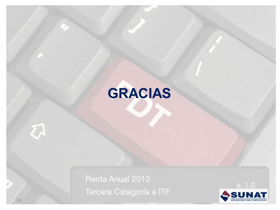 GRACIAS 83