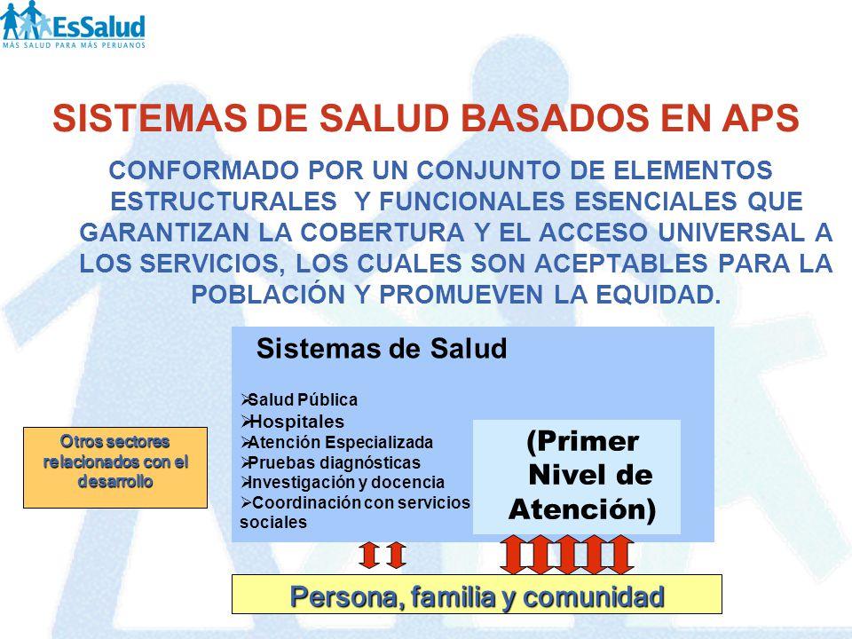 PRIMER NIVEL DE ATENCION (Resolución de Gerencia General N 549-GG-ESSALUD-2007)