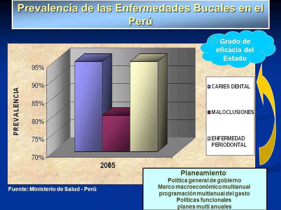 Fuente: Ministerio de Salud - Perú Planeamiento Política general de gobierno Marco macroeconómico multianual programación multianual del gasto Polític
