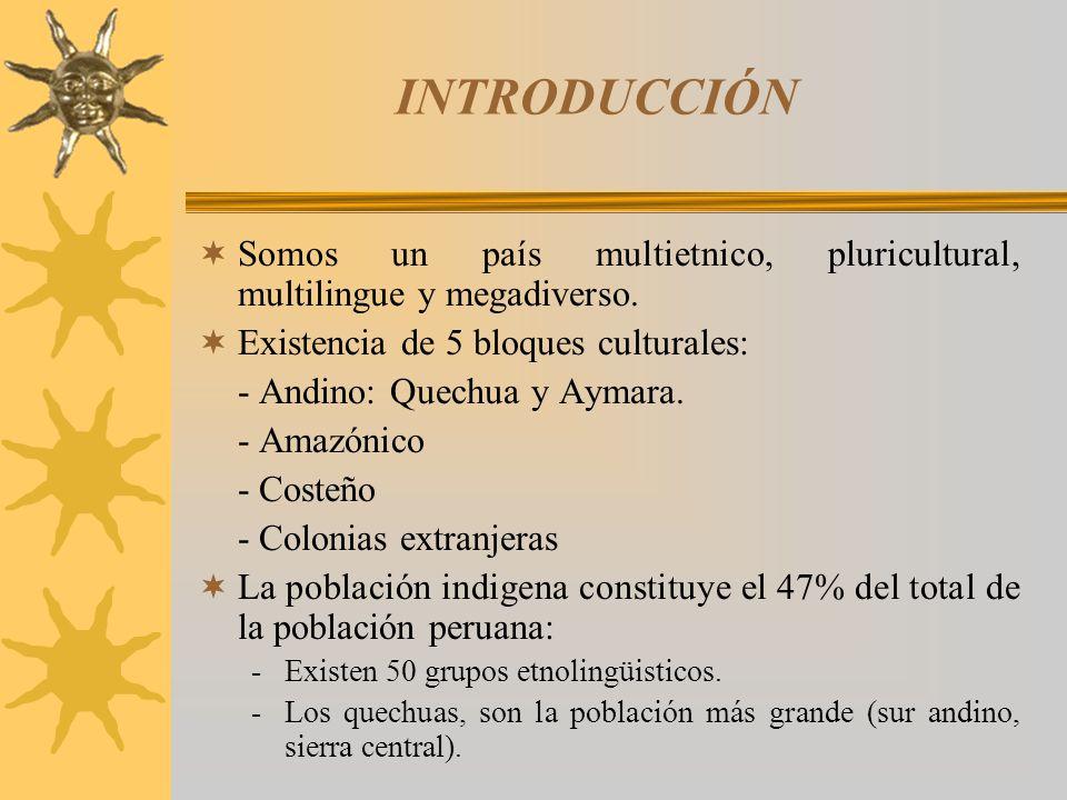 -Los aymaras importante población originaria (sur andino y frontera con Bolivia).
