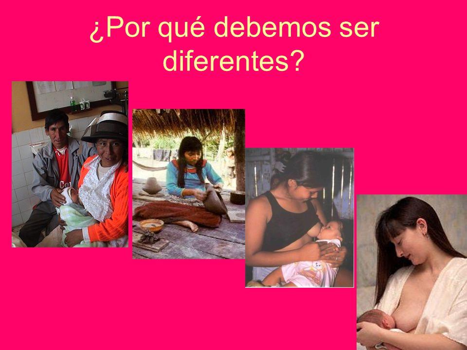 ¿Por qué debemos ser diferentes?