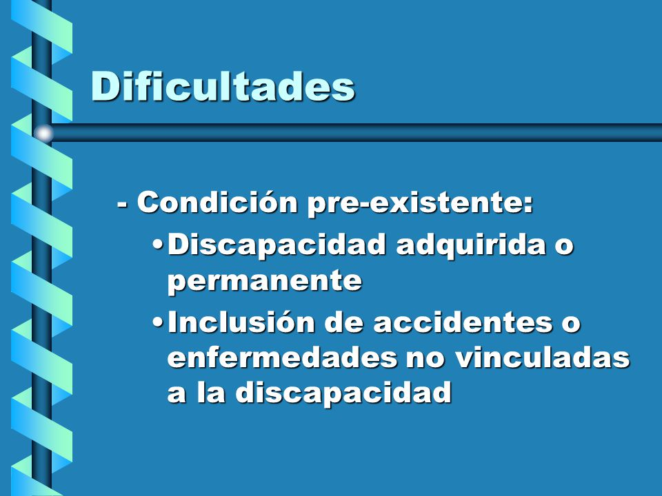 Principios a incorporar Inclusión: eliminación de las preexistenciasInclusión: eliminación de las preexistencias Equidad de OportunidadesEquidad de Oportunidades AccesibilidadAccesibilidad EspecializaciónEspecialización