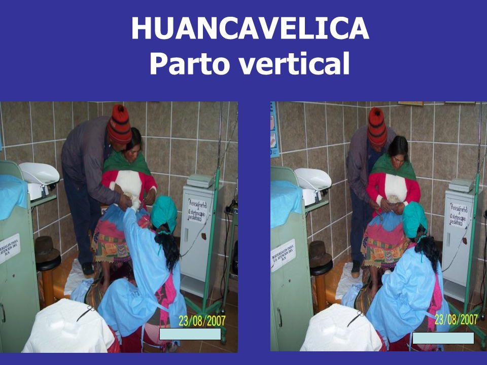 HUANCAVELICA Parto vertical