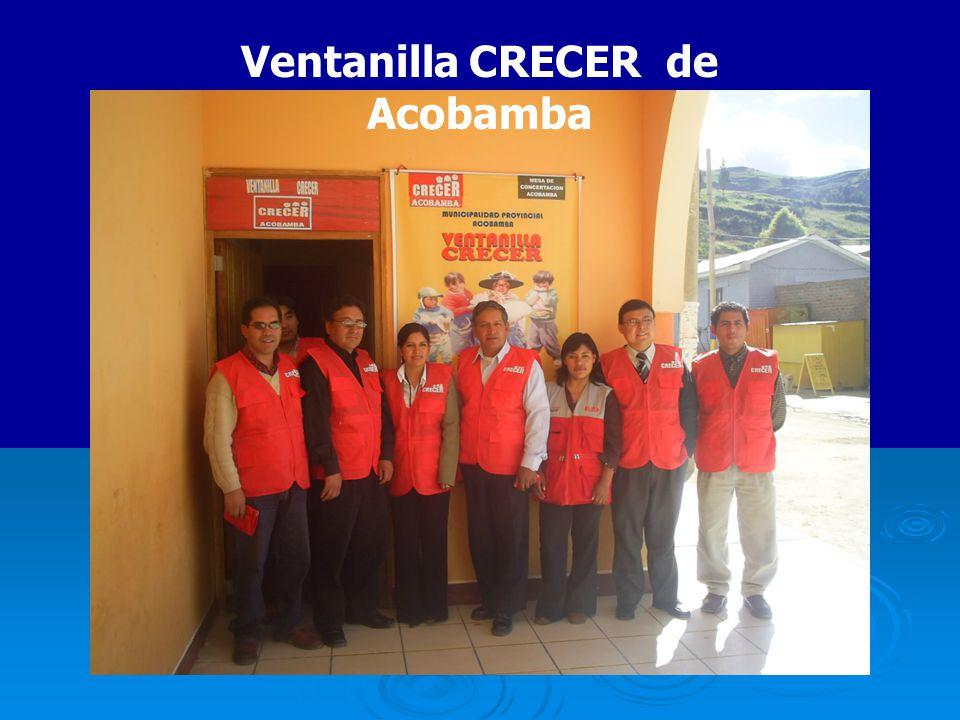 Ventanilla CRECER de Acobamba