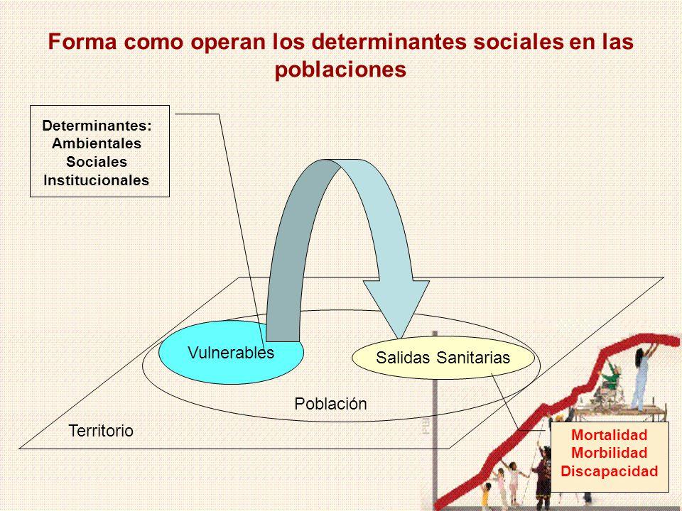 4 Determinantes Sociales de la Salud en el Perú Exclusión económica, social, política y cultural.