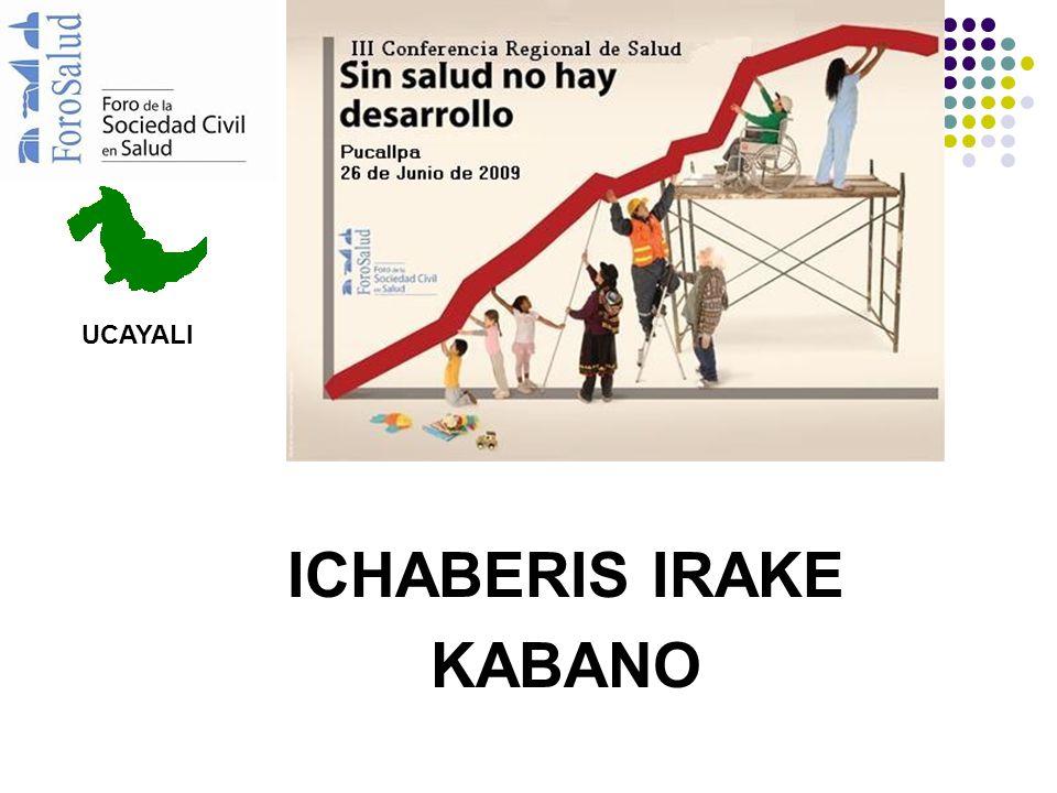 ICHABERIS IRAKE KABANO UCAYALI
