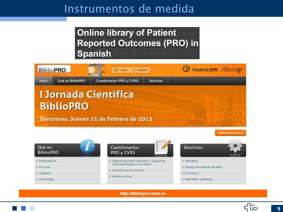 UCI 10 Instrumentos de medida