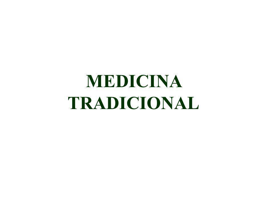 ORGANIZACIÓN MUNDIAL DE LA SALUD (OMS) Resolución WHA30.49 de la 30 Asamblea General de 1977 medicina tradicional Fomentar una consideración objetiva de los problemas relacionados con los sistemas de medicina tradicional, como medio de promover los servicios de salud y contribuir a su eficacia; Promover la integración de los conocimientos y las técnicas de utilidad demostrada existentes en la medicina occidental y en los sistemas médicos tradicionales;