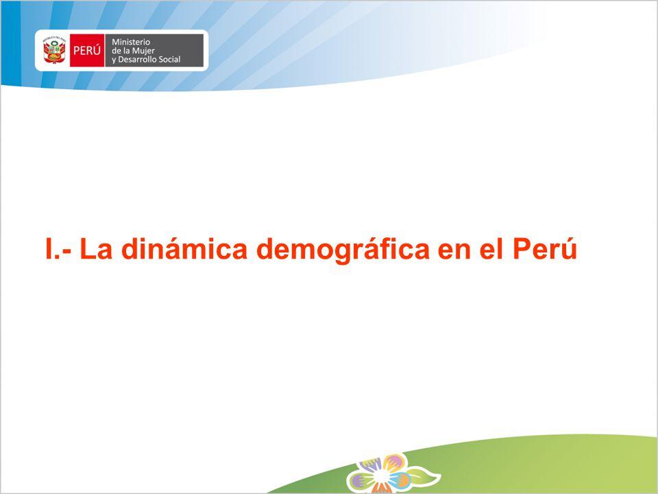 1.Principales problemas y retos demográficos La planificación familiar no llega a los más pobres.