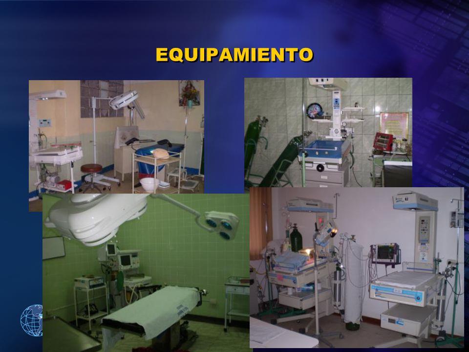 2005 Organización Panamericana de la Salud EQUIPAMIENTO
