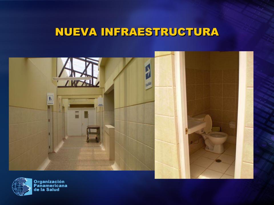 2005 Organización Panamericana de la Salud NUEVA INFRAESTRUCTURA