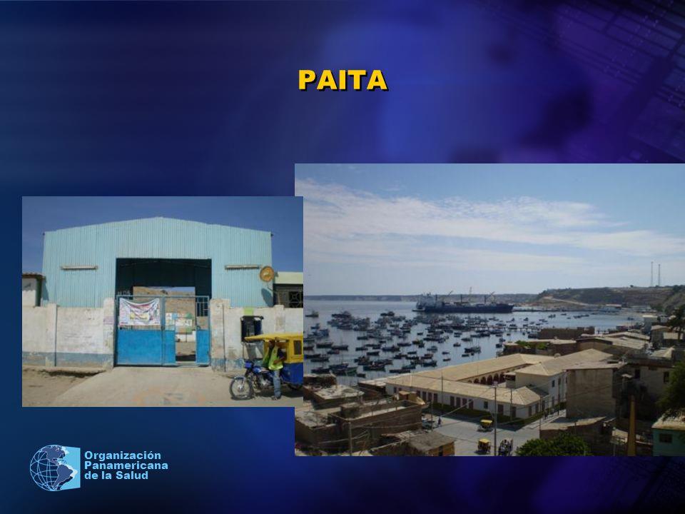 2005 Organización Panamericana de la Salud PAITA