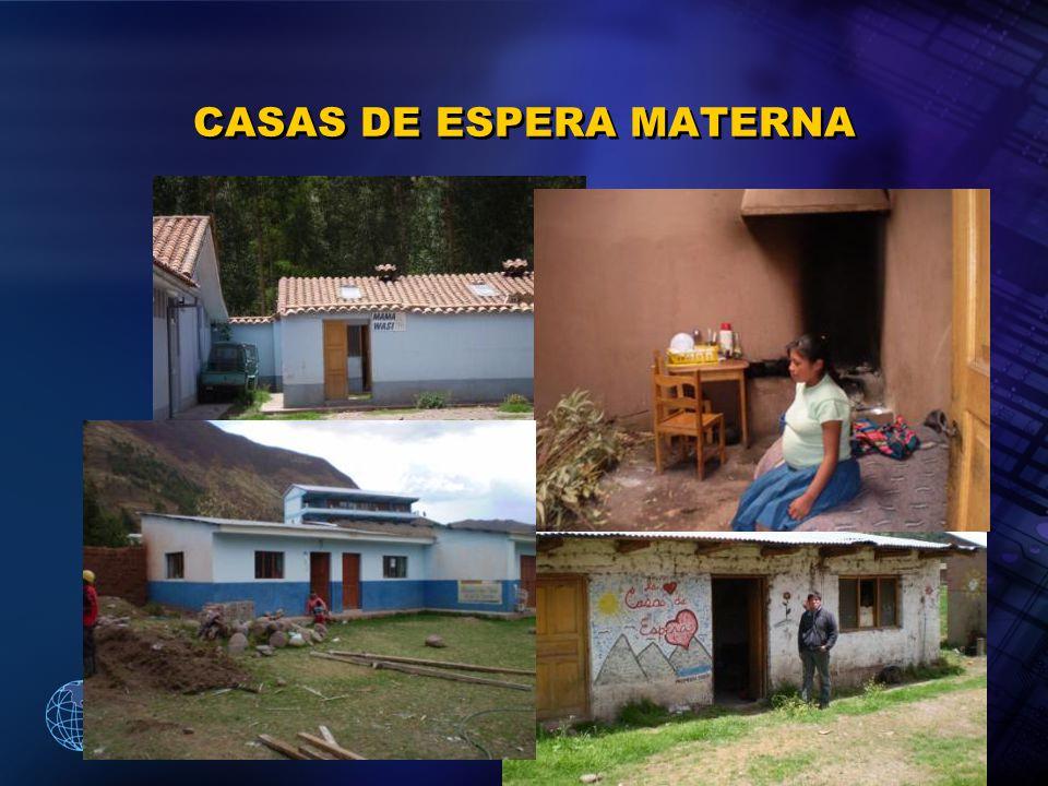2005 Organización Panamericana de la Salud CASAS DE ESPERA MATERNA