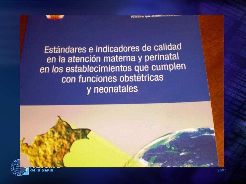 2005 Organización Panamericana de la Salud Infraestructura vieja, deteriorada y en ciertos casos deplorables.