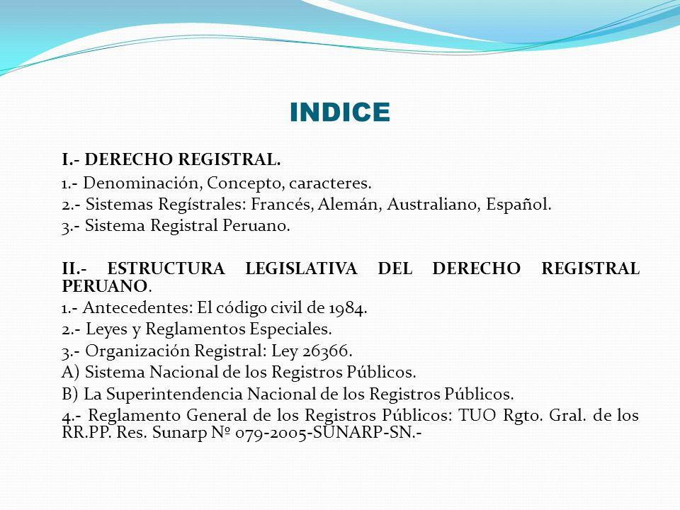DERECHO REGISTRAL PERCY FLORES ROJAS REGISTRADOR PÚBLICO