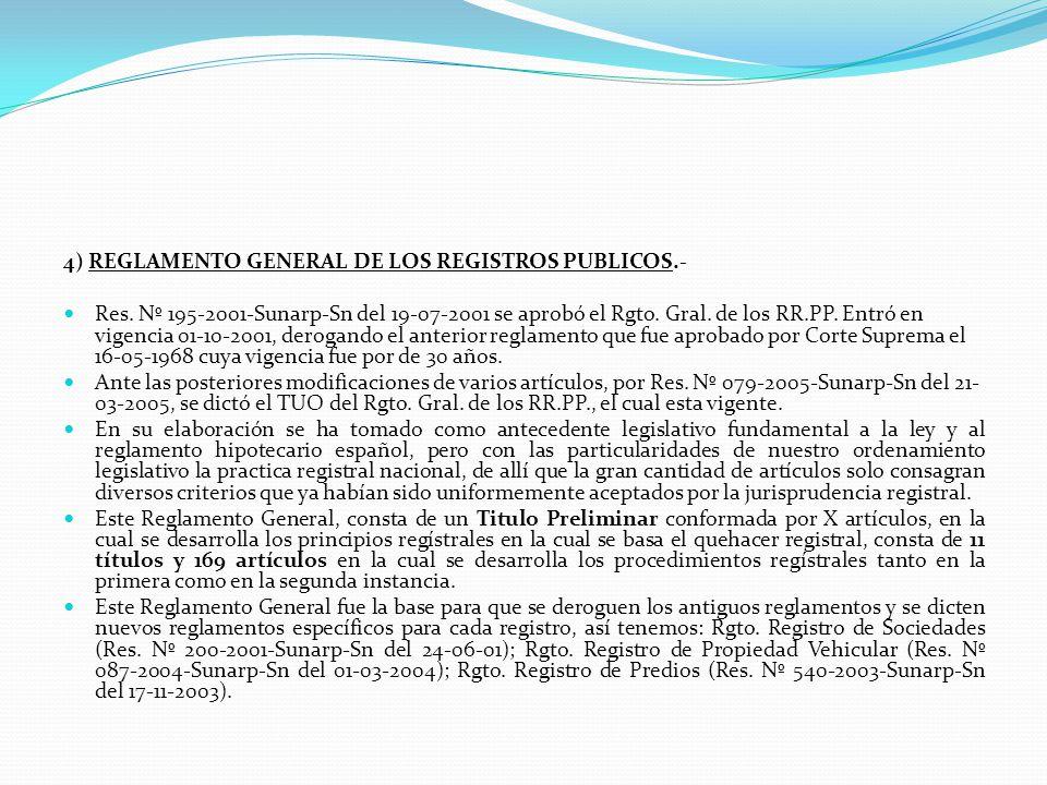 GARANTIAS DEL SISTEMA NACIONAL DE LOS REGISTROS PUBLICOS.- a) La autonomía de sus funcionarios en el ejercicio de sus funciones regístrales. b) La int